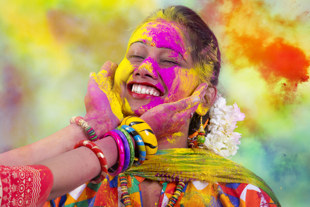 #8 Holi, India
