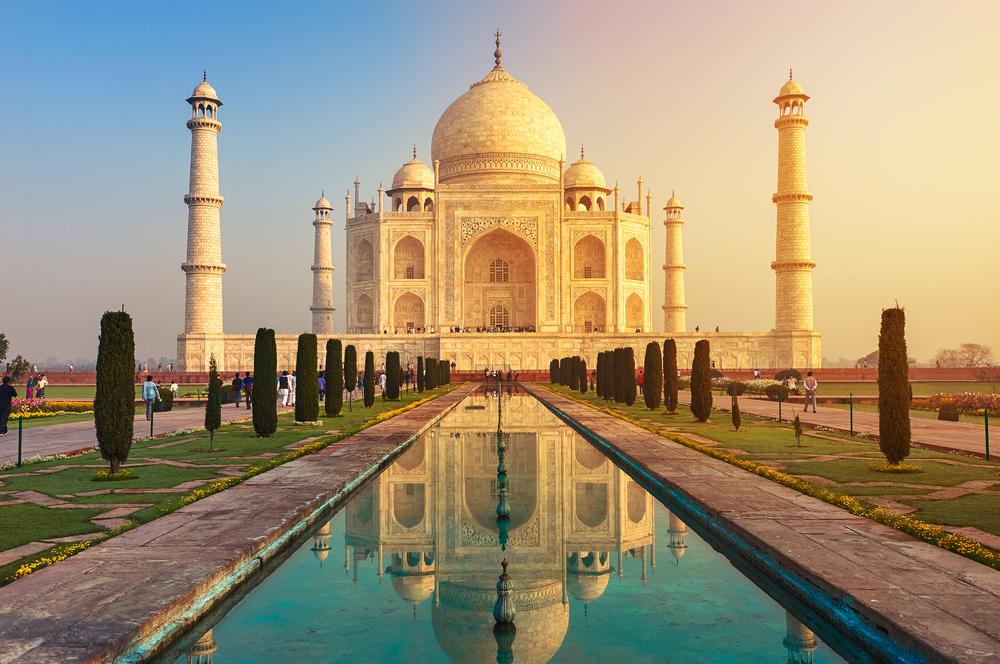 #1 Taj Mahal