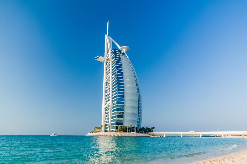 #10 Burj Al Arab Hotel, Dubai