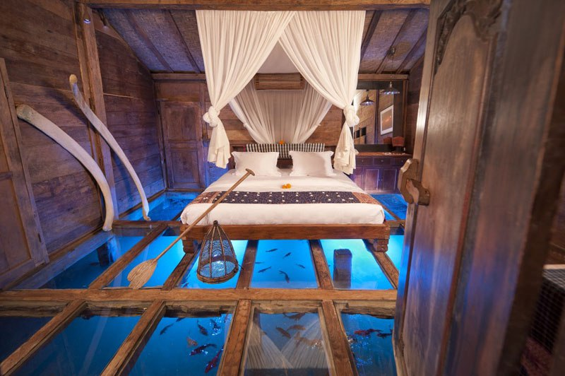 #12 The Glass Floor House, Bali