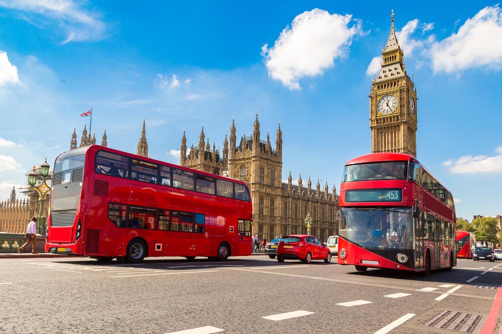 #1 London, England