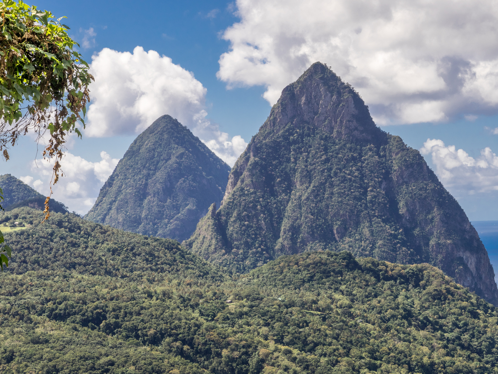 #10 The Pitons, St Lucia