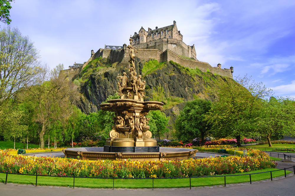#2 Edinburgh Castle