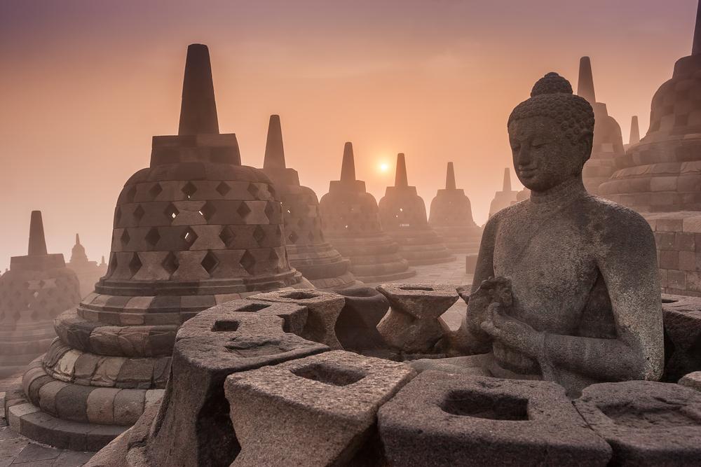 9. Borobudur, Indonesia