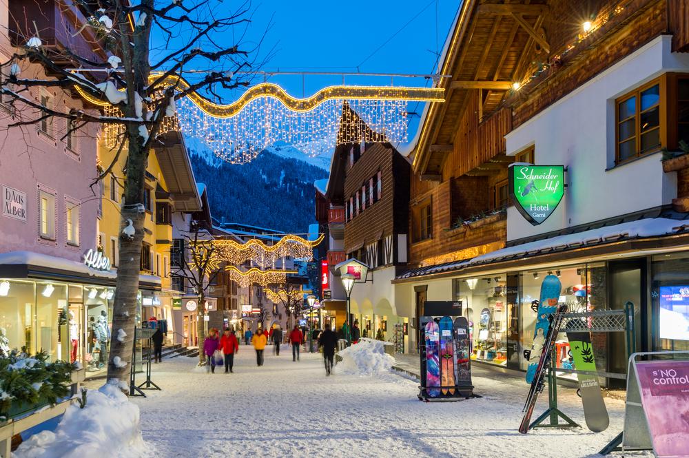 1. St Anton, Austria