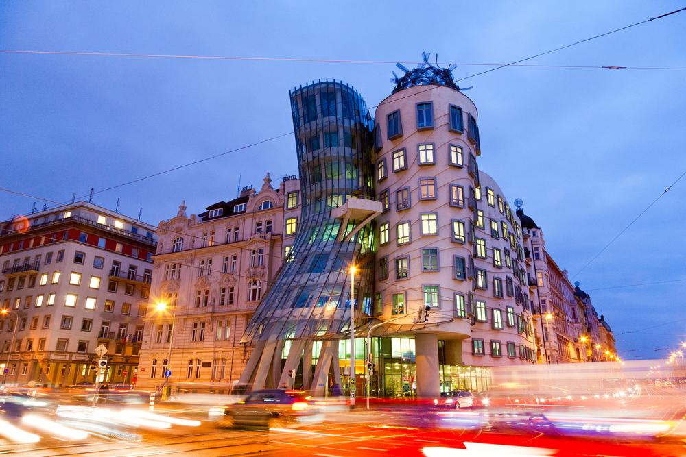 10. Dancing House, Prague