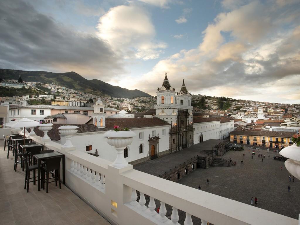 12. La Terraza de Casa Gangotena || Quito, Ecuador
