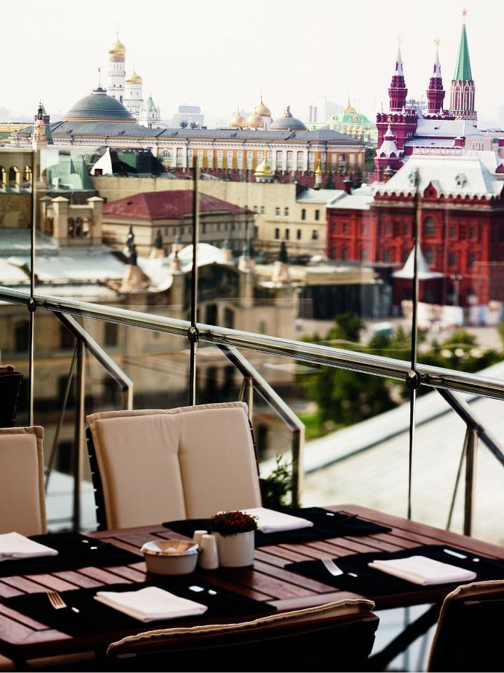 18. Conservatory Lounge & Bar, Ararat Park Hyatt || Moscow, Russia