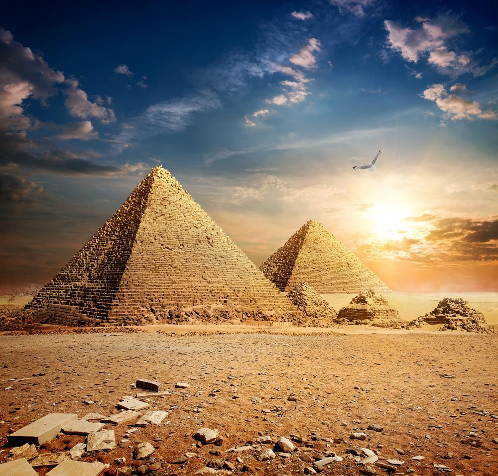 19. The Pyramids Of Giza
