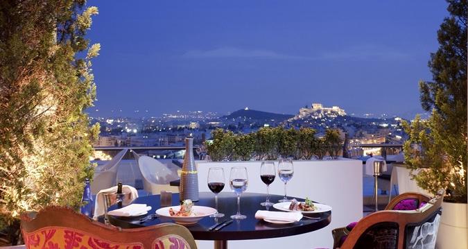 20. The Galaxy Bar, Hilton Hotel || Athens, Greece