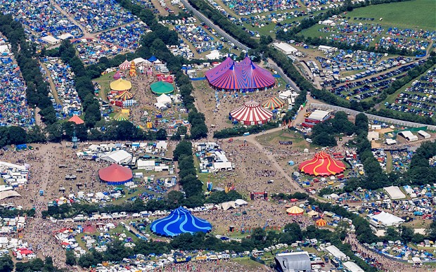 3. GLASTONBURY FESTIVAL, UK