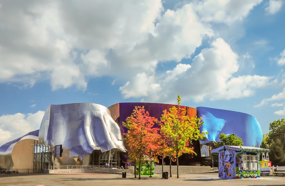4. Museum Of Pop Culture, Seattle, USA