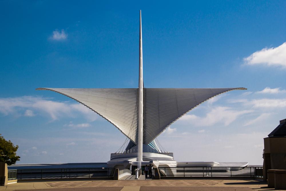 8. Milwaukee Art Museum, Wisconsin, USA