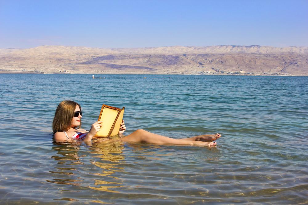 9. The Dead Sea