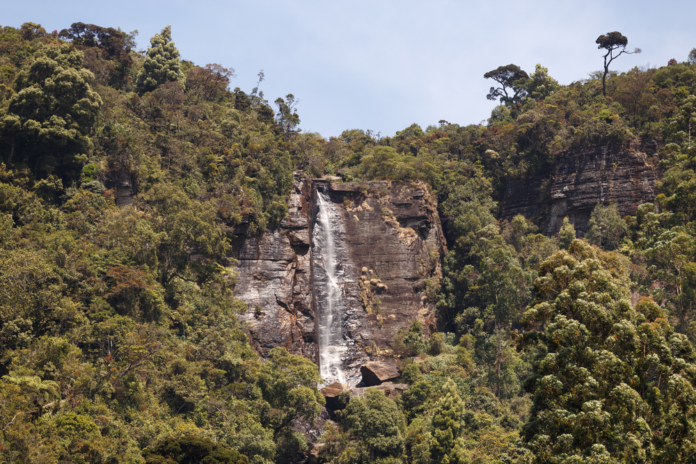 12. Lover's Leap Waterfall, Nuwara Eliya, Sri Lanka