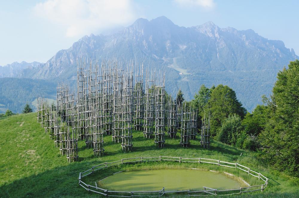 12. The Tree Cathedral, Bergamo