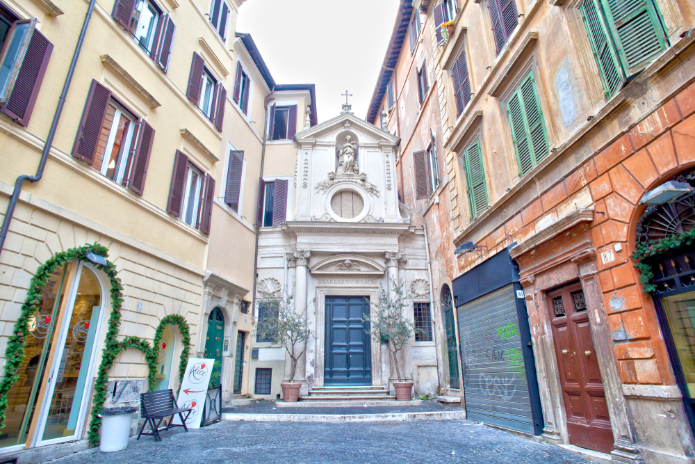 19. Santa Barbara dei Librai, Rome