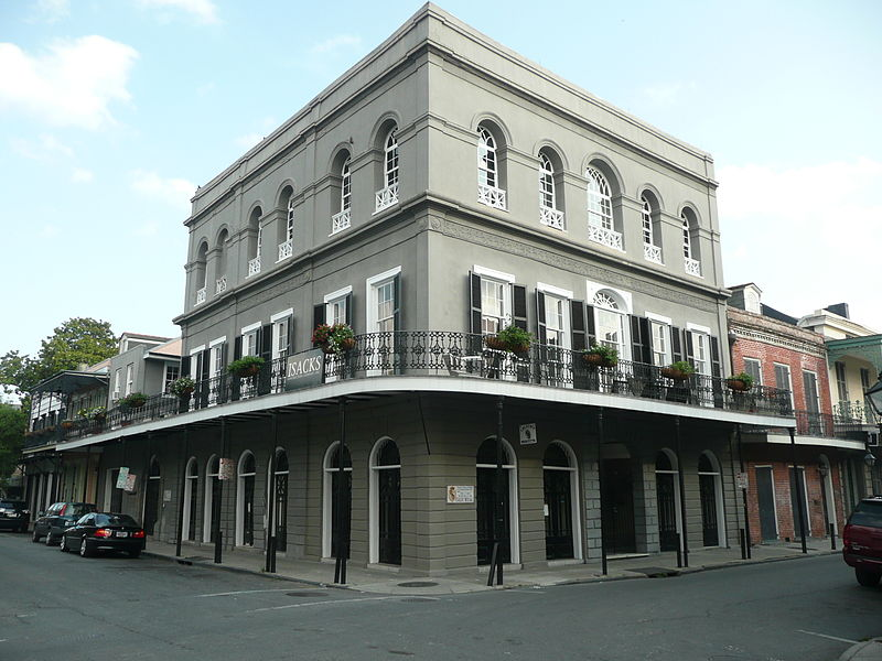 2. The LaLaurie Mansion, New Orleans, Louisiana