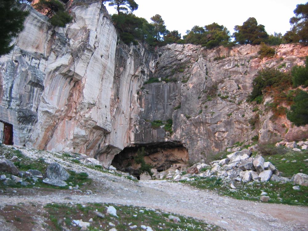 24. Daveli's Cave, Mount Pentelli, Attica, Greece