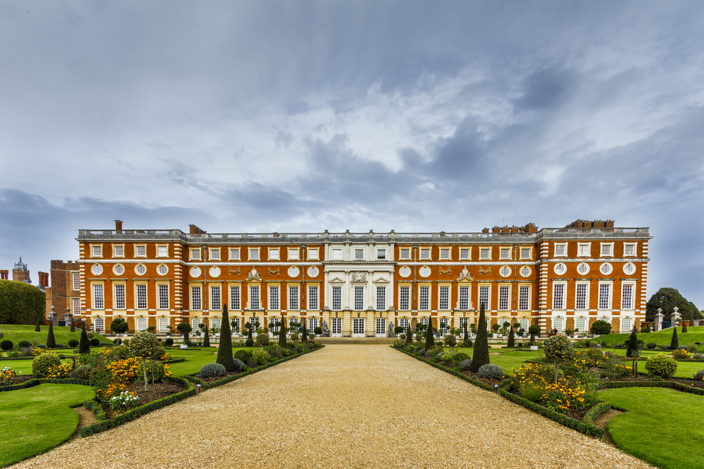 4. Hampton Court Palace, Surrey, England