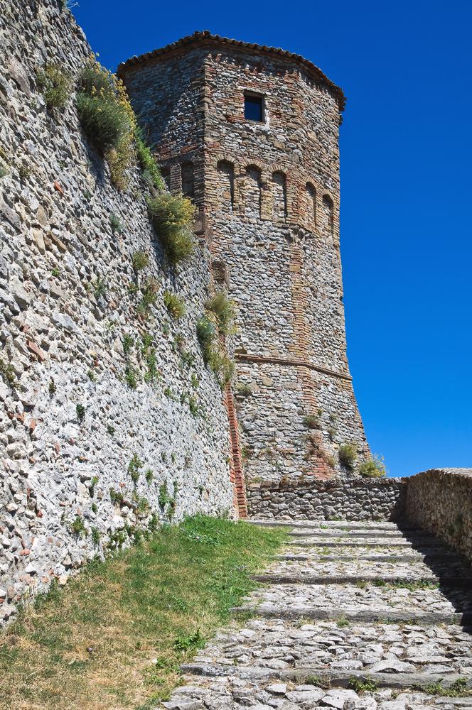 6. Castello di Montebello, Torriana, Italy