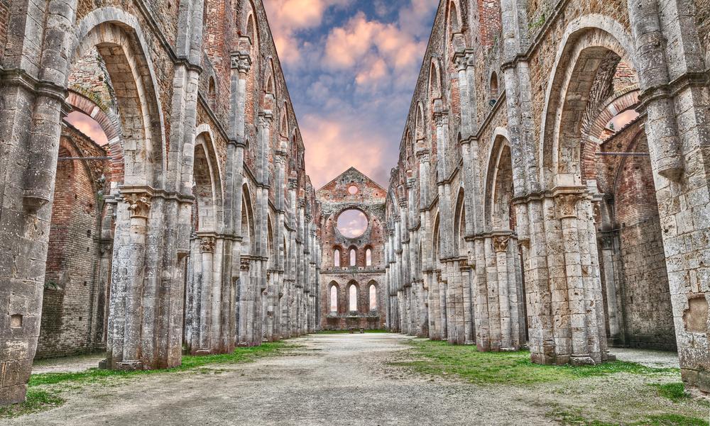 9. Abbey of San Galgano, Siena