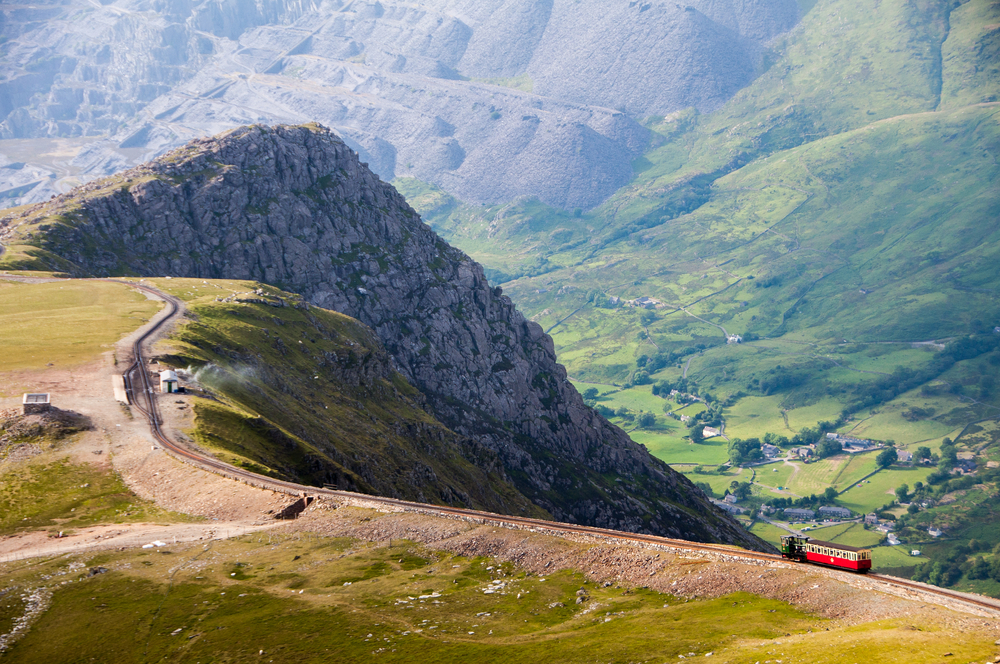 10. Snowdon Mountain Railway, Wales