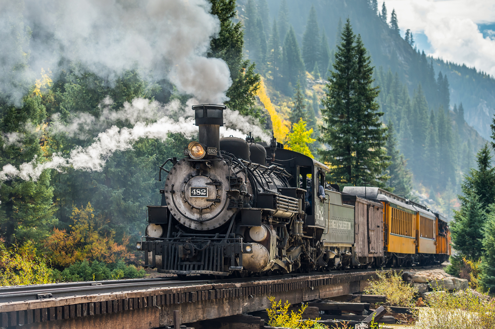 16. Durango & Silverton Narrow Gauge Railroad, USA