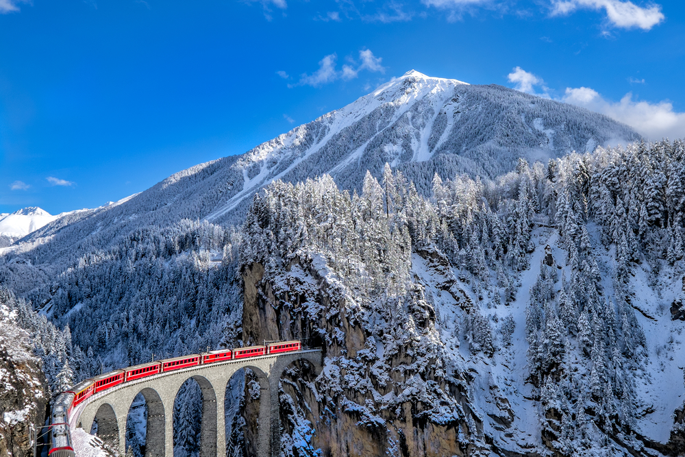 17. Glacier Express, Switzerland