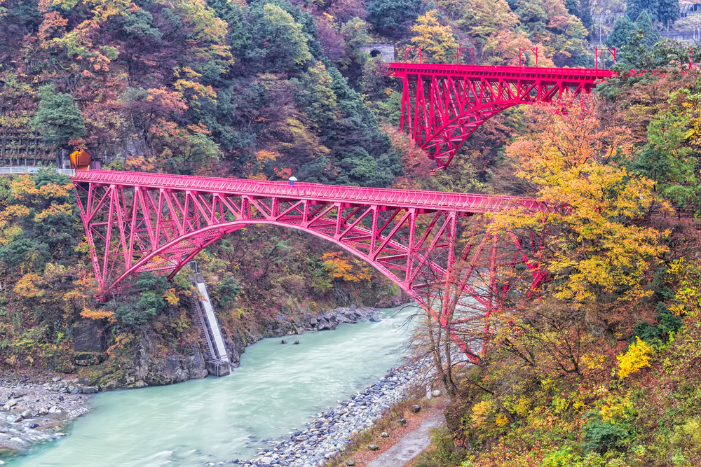 18. Kurobe Gorge Railway, Japan