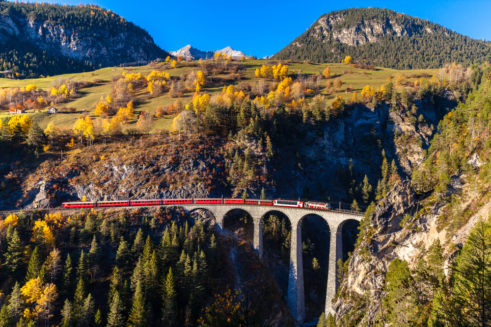 2. Bernina Express, Switzerland