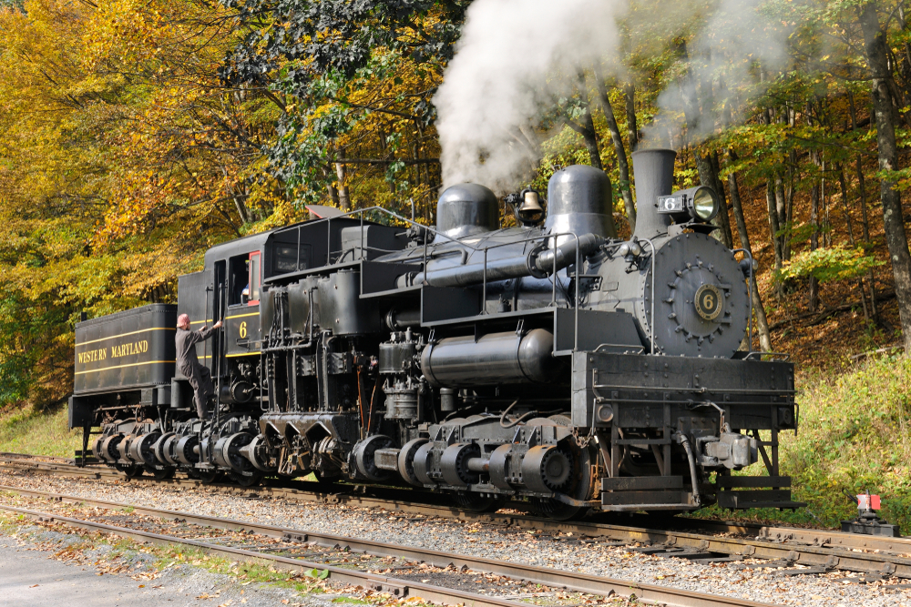 22. Cass Scenic Railroad, West Virginia