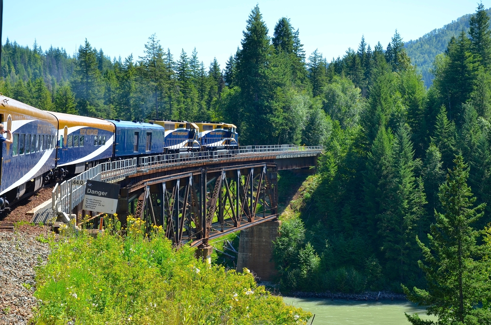 3. Rocky Mountaineer's First Passage to the West, Canada